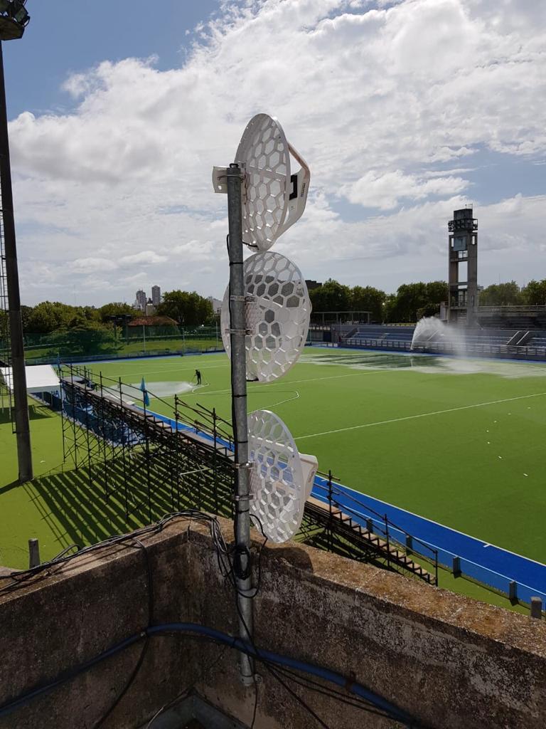 Los estadios del Parque de Deportes tienen conexión de alta velocidad