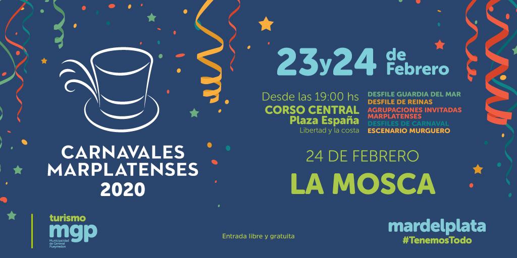 Mar del Plata celebrará el gran Corso Central en Plaza España