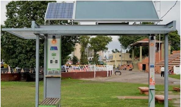 Proponen la instalación de una Estación Solar en la Plaza España