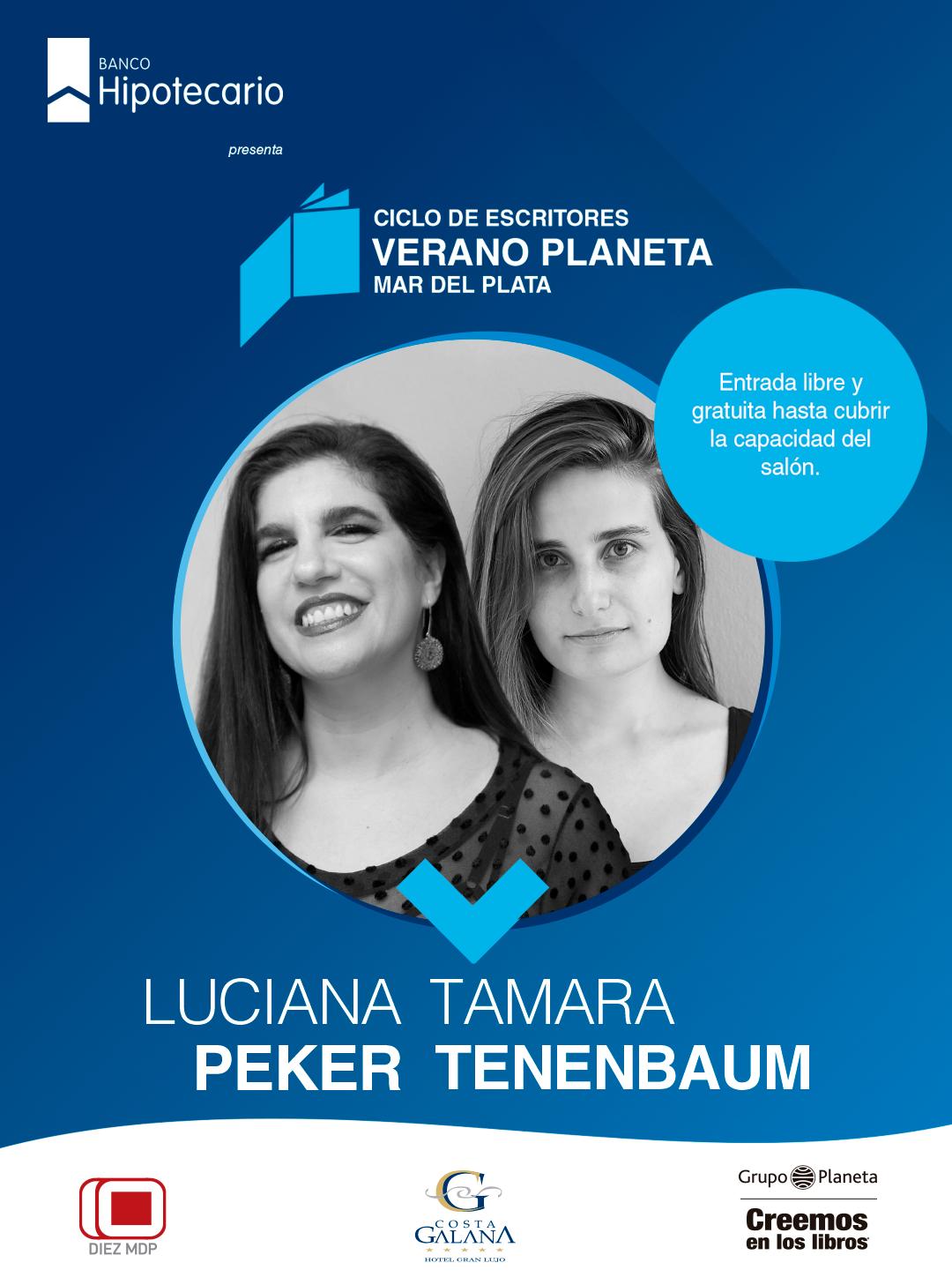 "Luciana Peker-Tamara Tenenbaum en el segundo dueto de ""Verano Planeta 2020"""