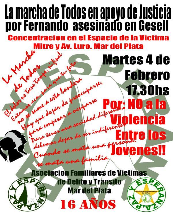 Familiares Víctimas del Delito cumple 200 marchas