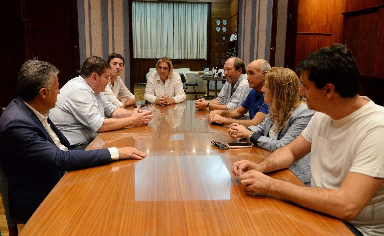 Montenegro se reunió con el presidente de la UCR