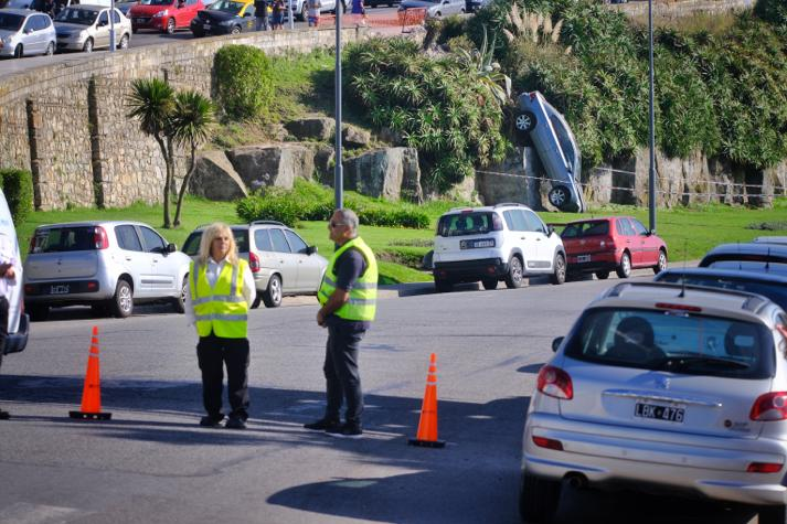 El conductor que provocó el triple choque en Paseo Dávila deberá pagar 2 millones de pesos por los gastos ocasionados
