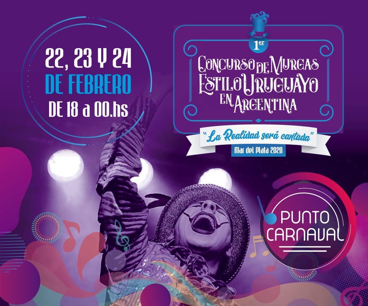 Punto Carnaval: el festejo más grande de la costa será en Mar del Plata