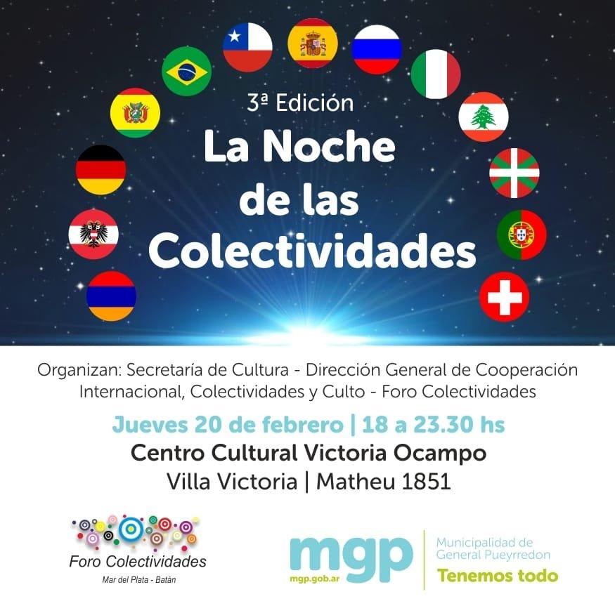 """Nueva edición de la """"Noche de las Colectividades"""""""
