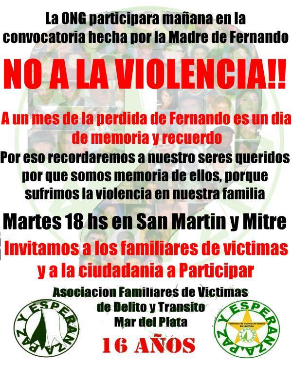 Redes sociales reafirman convocatoria a marcha por el crimen de Fernando Baez Sosa