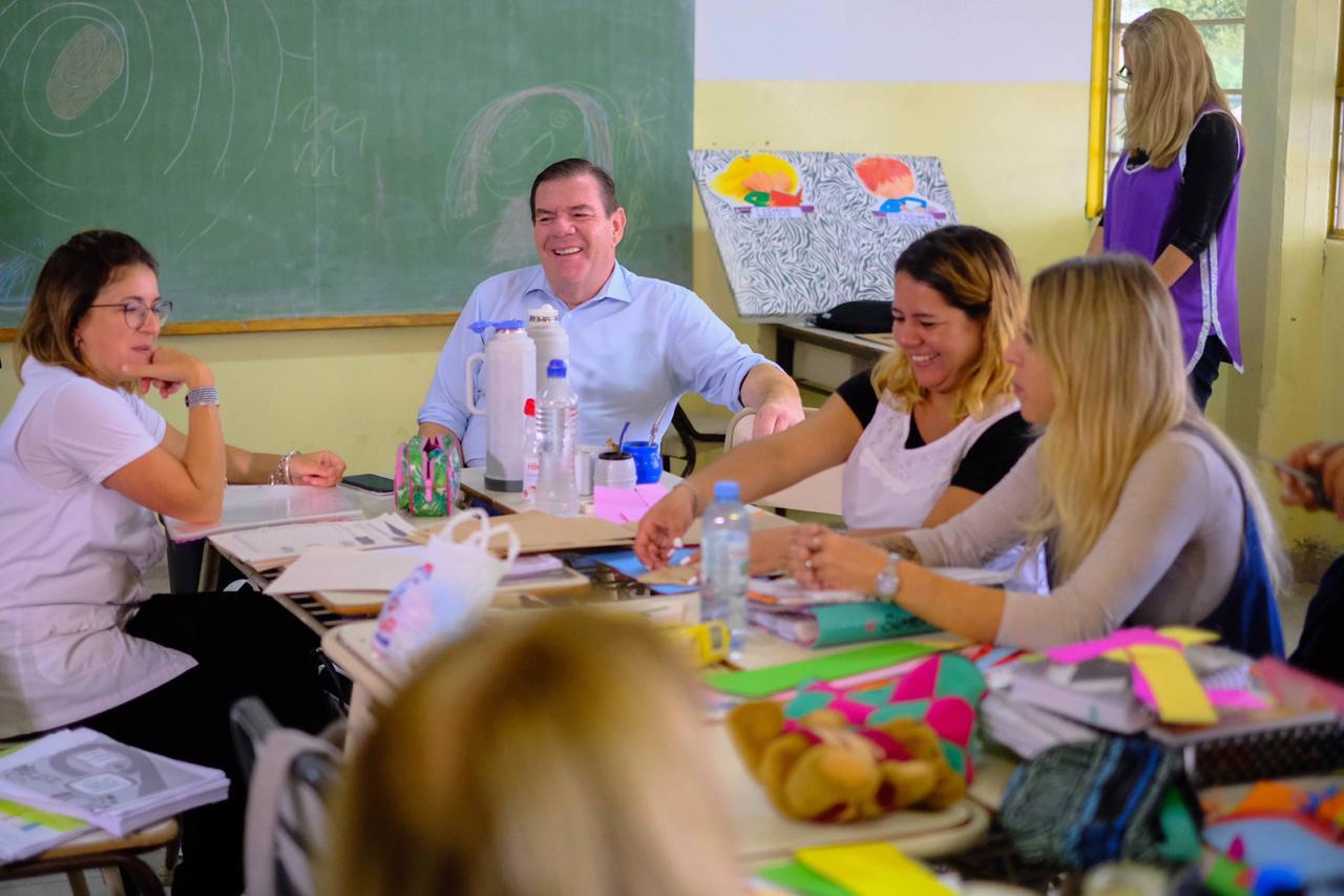 """Montenegro: """"estamos trabajando para llegar de buena manera al inicio de clases"""""""