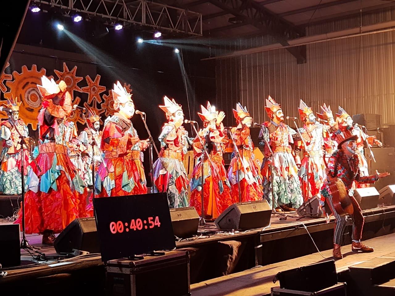 Con la Declaración de Interés Cultural, comenzó el 1er Concurso de Murgas