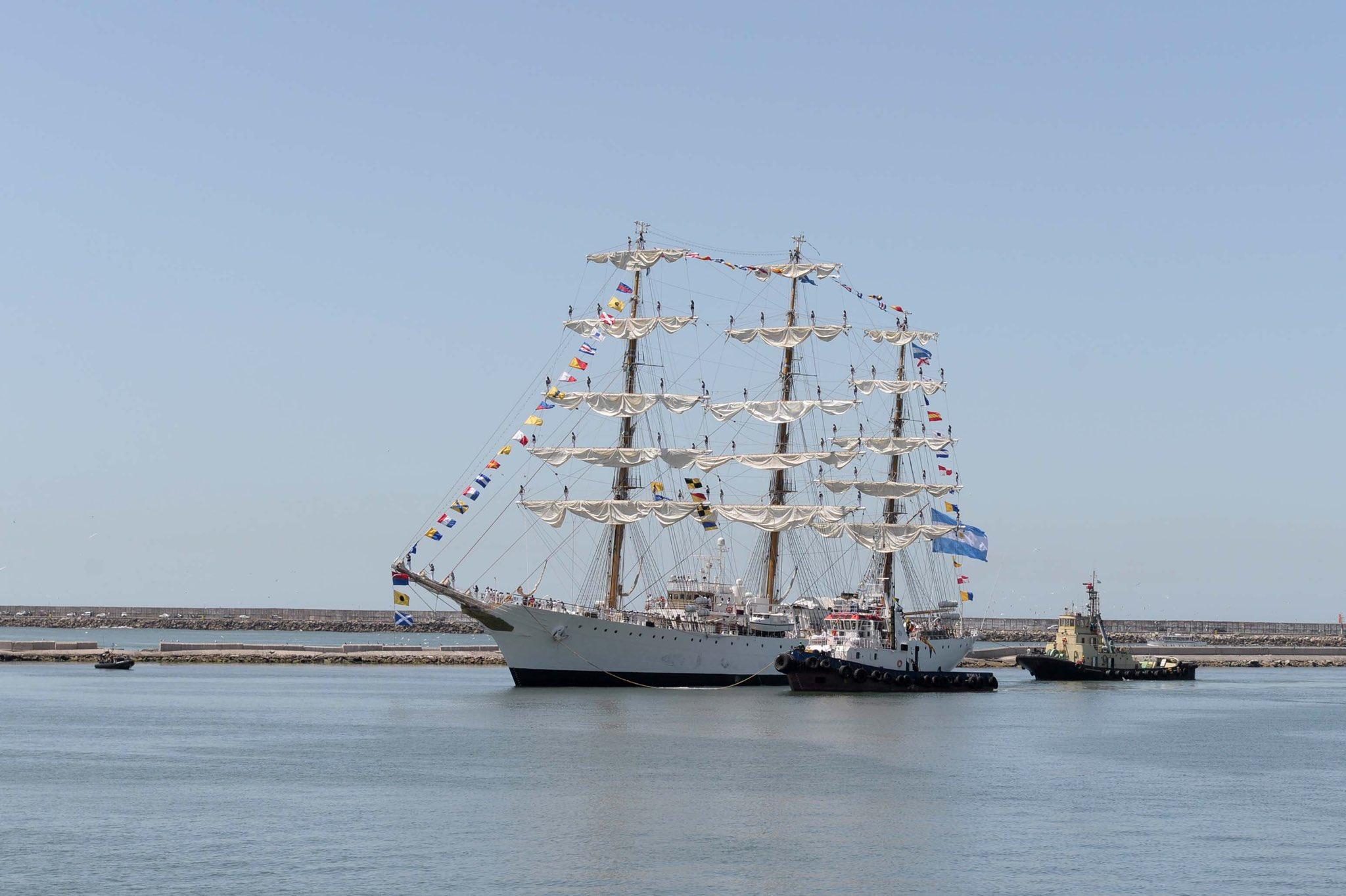 La Fragata Libertad será reparada en Mar del Plata