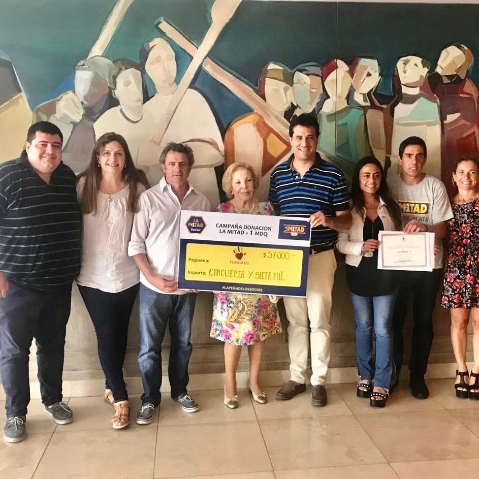 """Campaña """"Juntos por el Materno"""": Donación a FUNDAMI"""