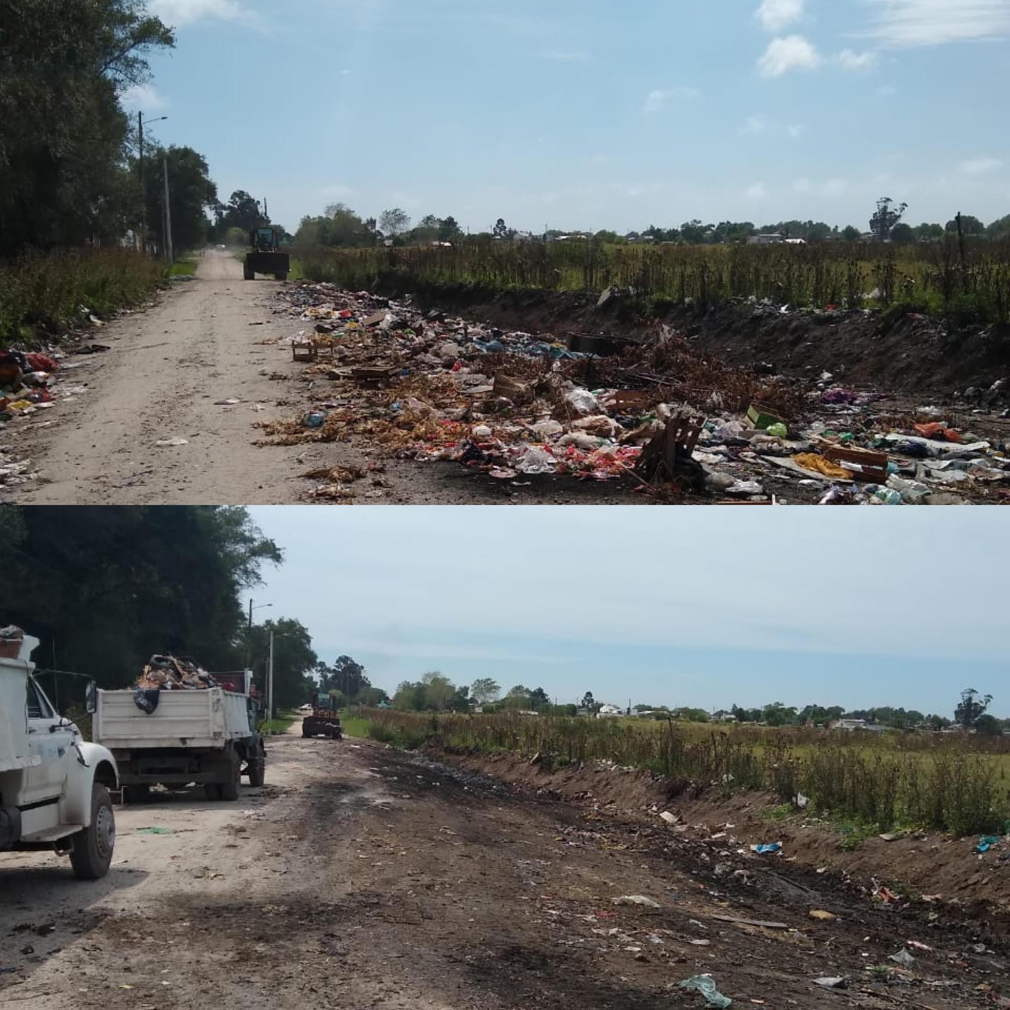 Microbasurales: limpian un predio y en menos de un día volvió a estar colmado de residuos