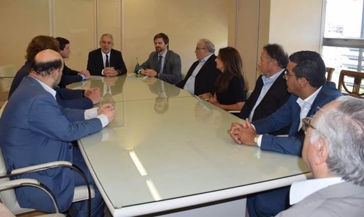 Abogados de Mar del Plata se reunieron con el Ministro de Justicia