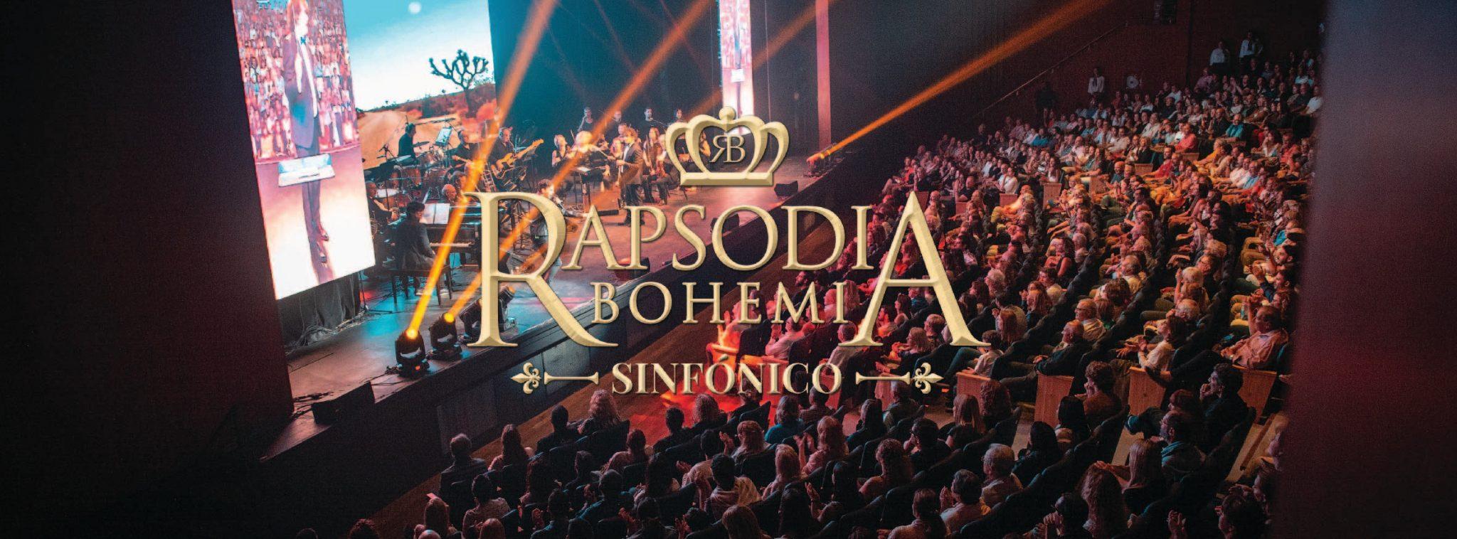 Por localidades agotadas, ¡Nueva y última función de Rapsodia Bohemia Sinfónico!