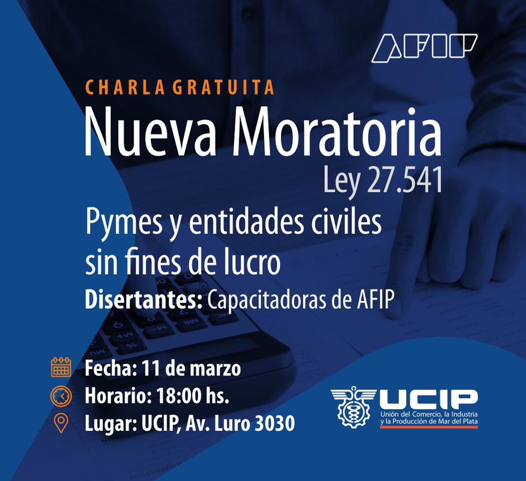 Charla de AFIP en Mar del Plata sobre Nueva Moratoria