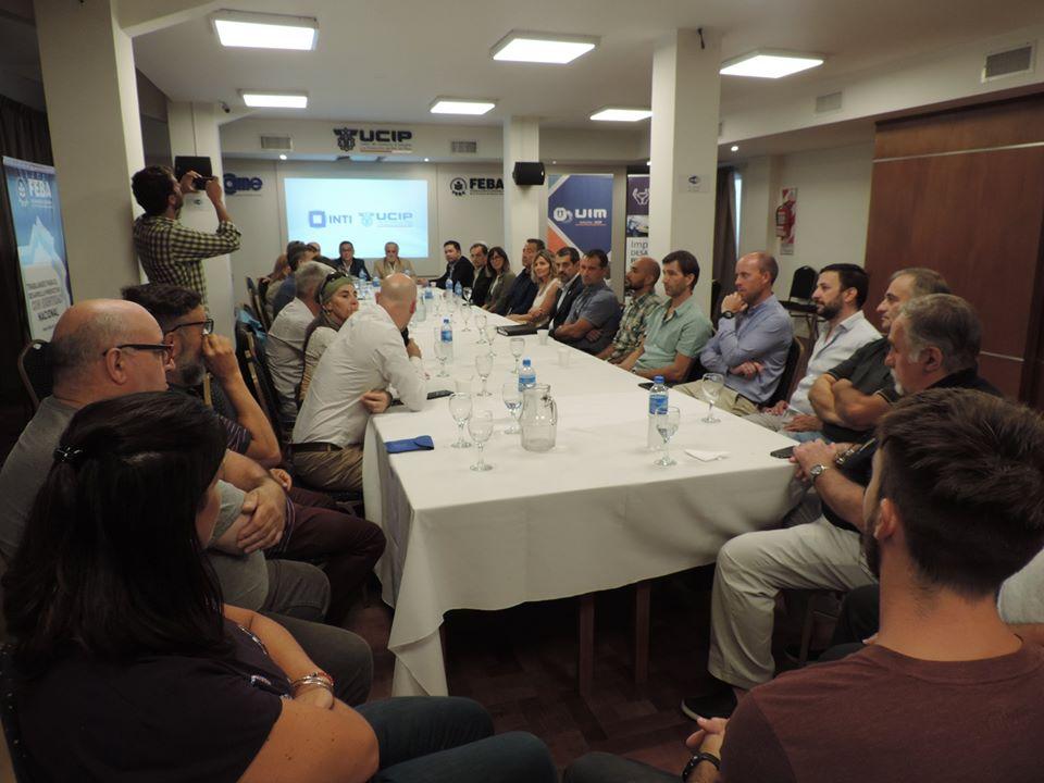 Autoridades del INTI se reunieron con industriales en UCIP