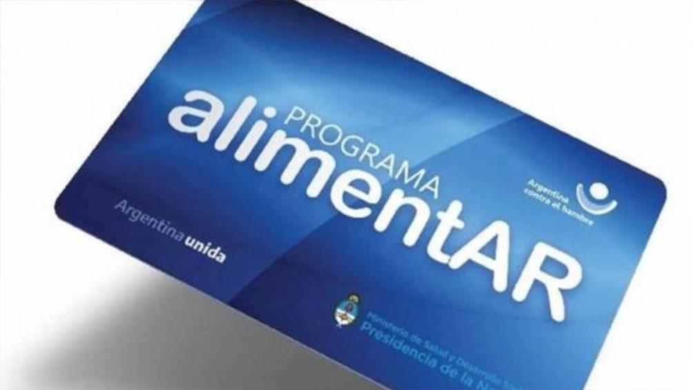 Continúa la entrega de Tarjetas AlimentAR en Mar del Plata