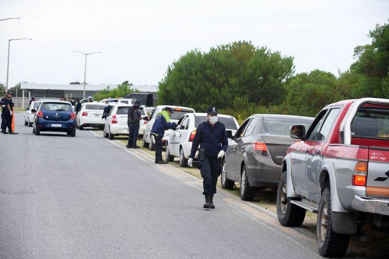 Polémica en el ingreso a Pinamar con los turistas