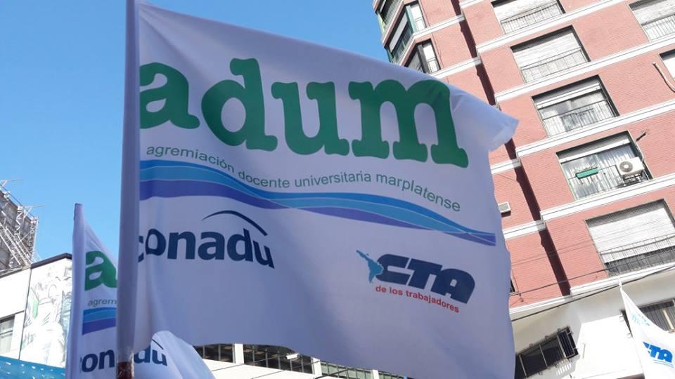 En la paritaria local, Adum logró la reglamentación de los ascensos transitorios de docentes