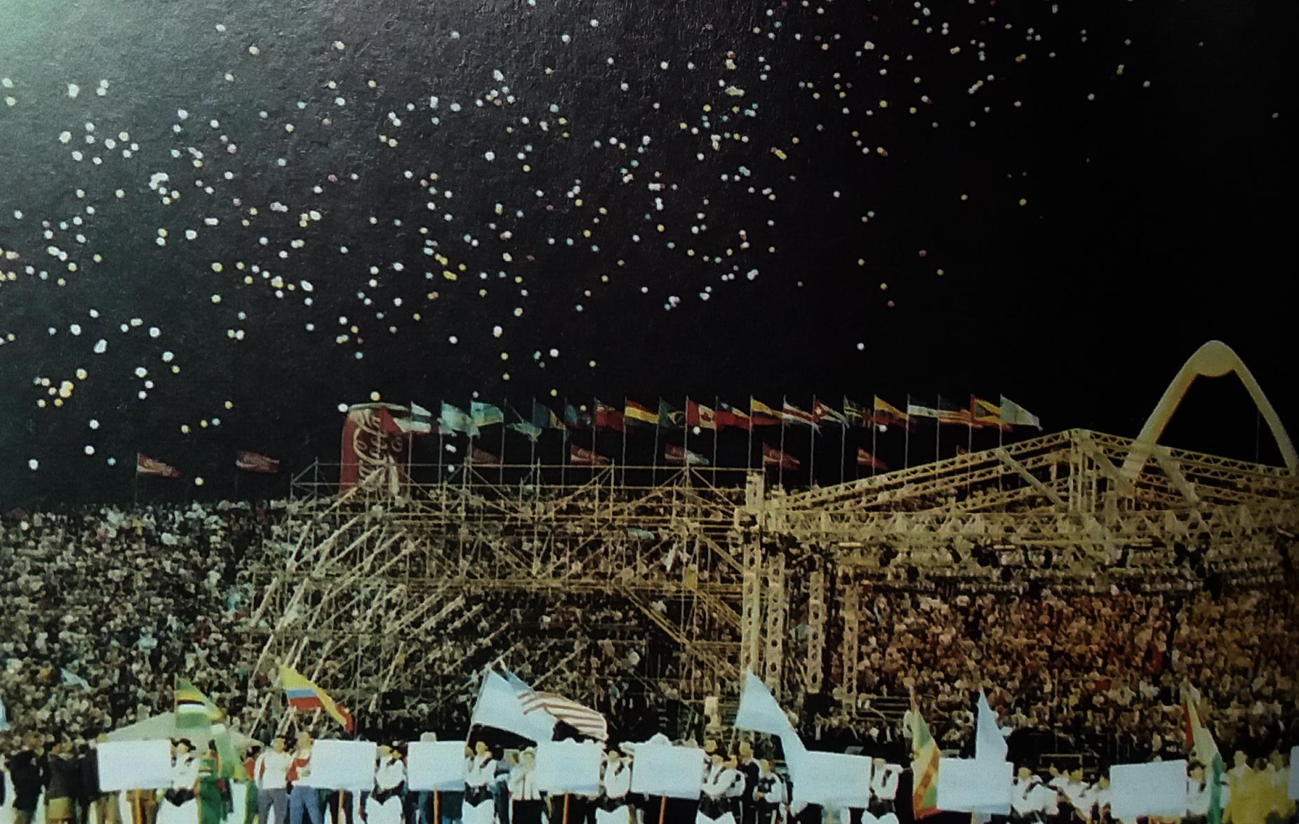 A 25 años de la clausura de los Juegos Deportivos Panamericanos Mar del Plata 1995