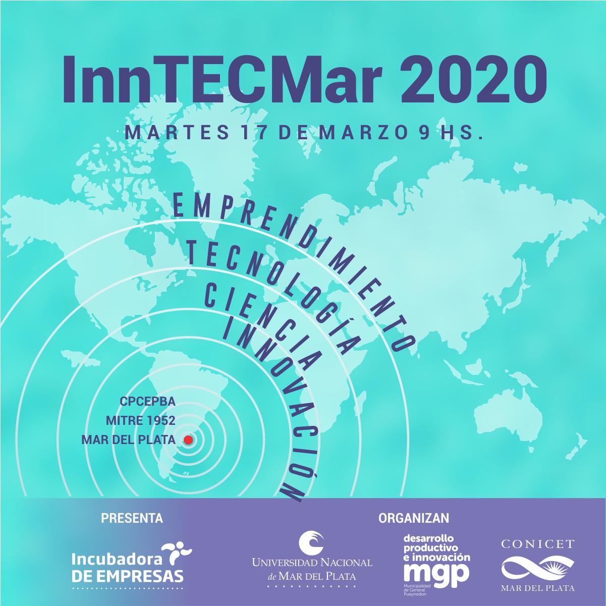 Se suspendió la Primera edición de InnTECMar 2020