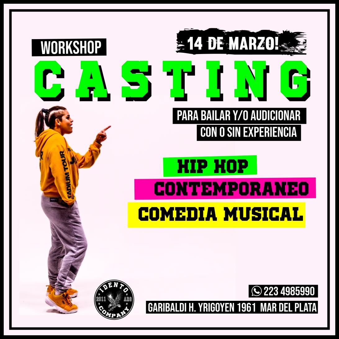 CASTING – WORKSHOP: La coreógrafa Agus Cumba convoca a un nuevo Casting