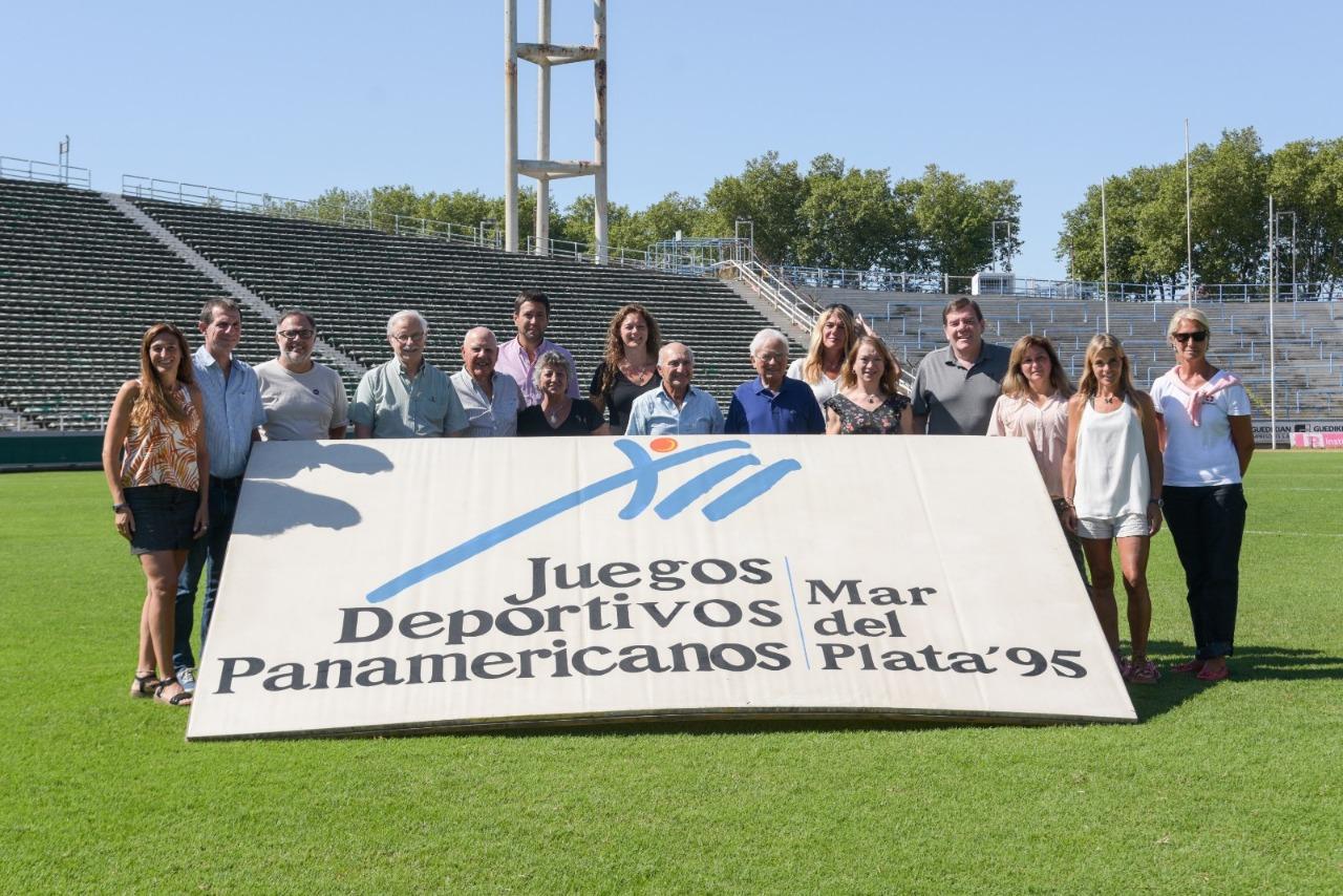 Montenegro anunció las actividades conmemorativas por los 25 años de los Juegos Panamericanos en Mar del Plata