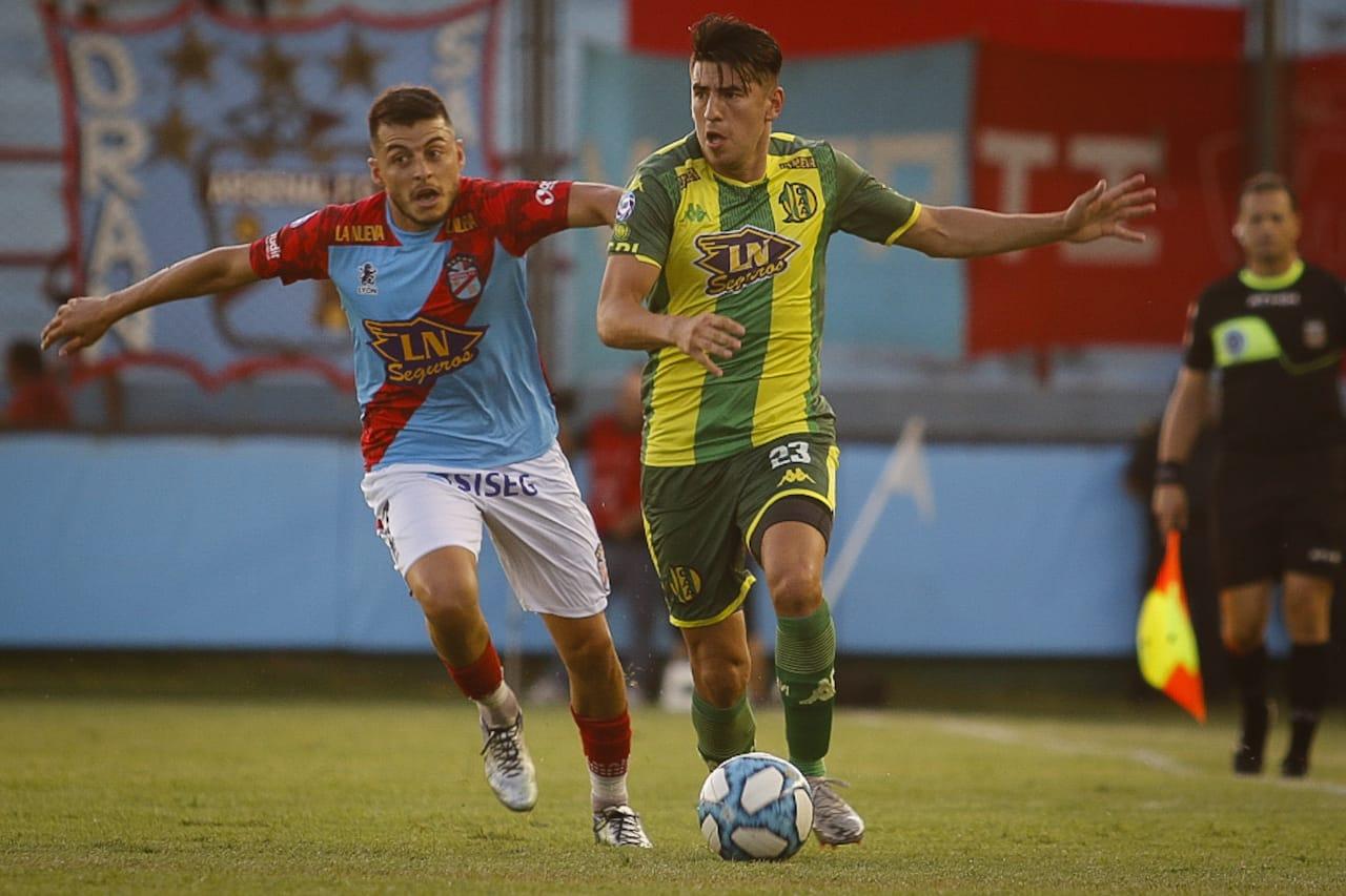 Dura derrota de Aldosivi en el cierre de la Superliga