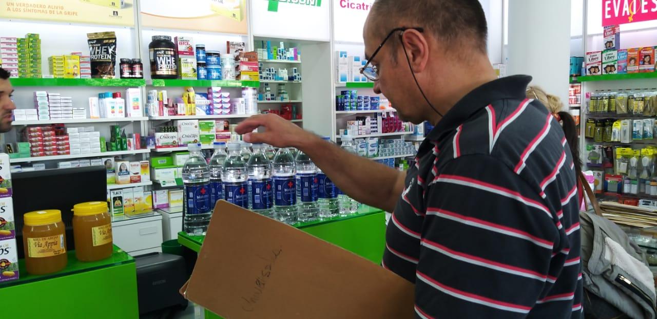El Municipio controla precios de alcohol y barbijos en farmacias de Mar del Plata