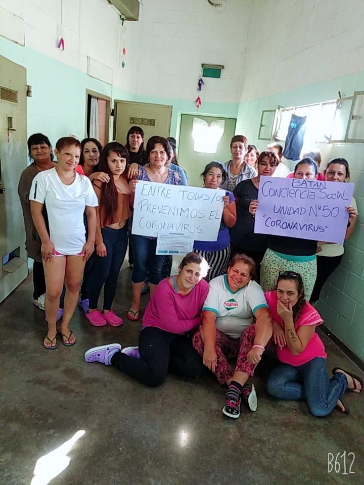 Internas de una cárcel de Batán decidieron no recibir a los visitantes por dos semanas como prevención por el Coronavirus