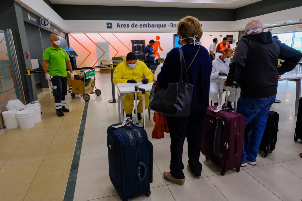 Operativos en el ingreso a Mar del Plata y en el Aeropuerto Astor Piazzolla