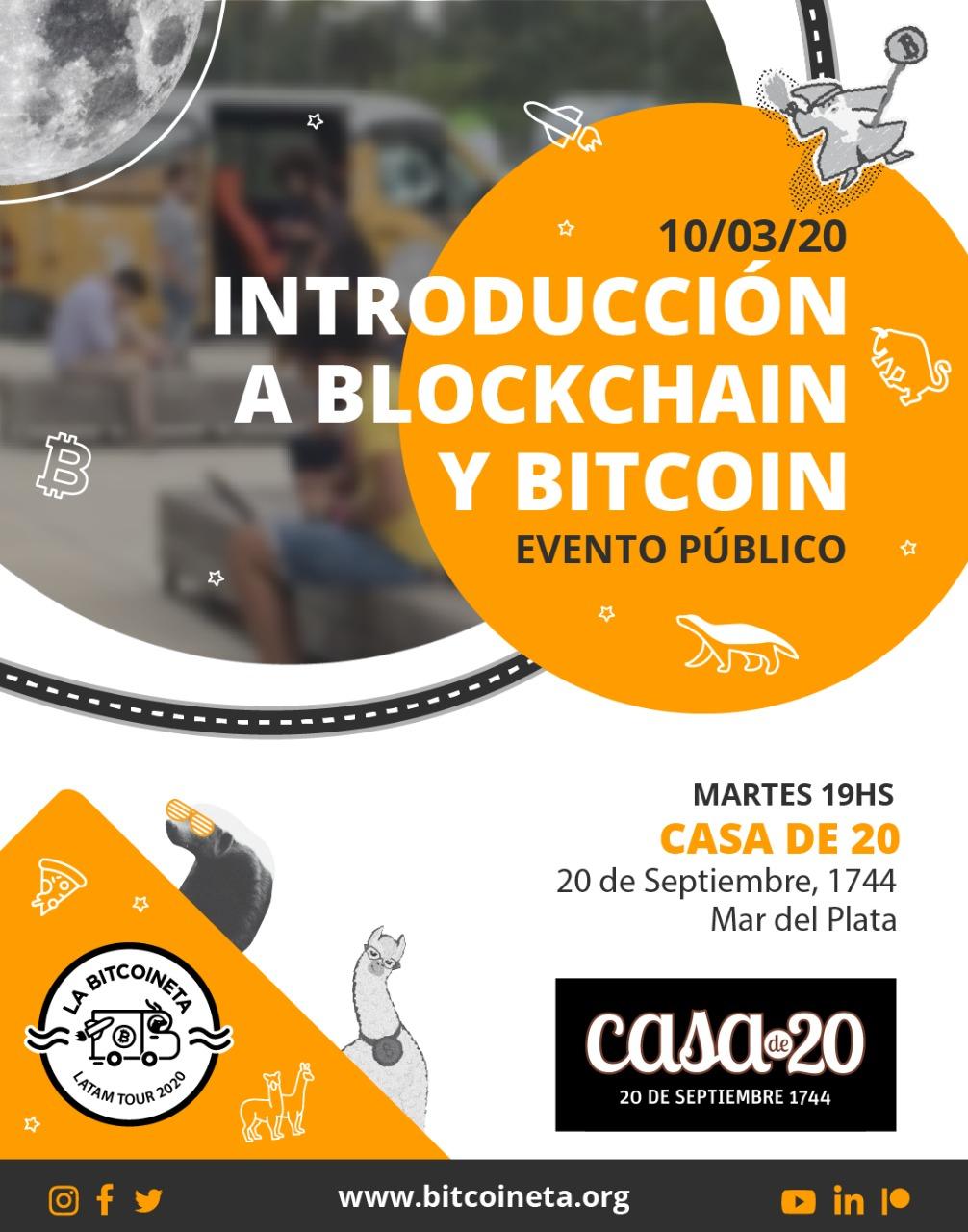 La Bitcoineta llega a Mar del Plata