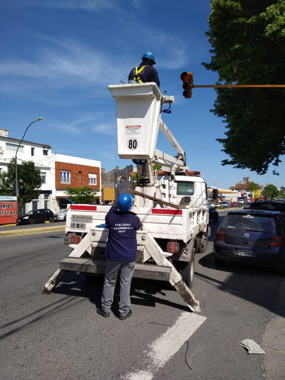 El Municipio redujo en un 50% los reclamos pendientes de Alumbrado Público