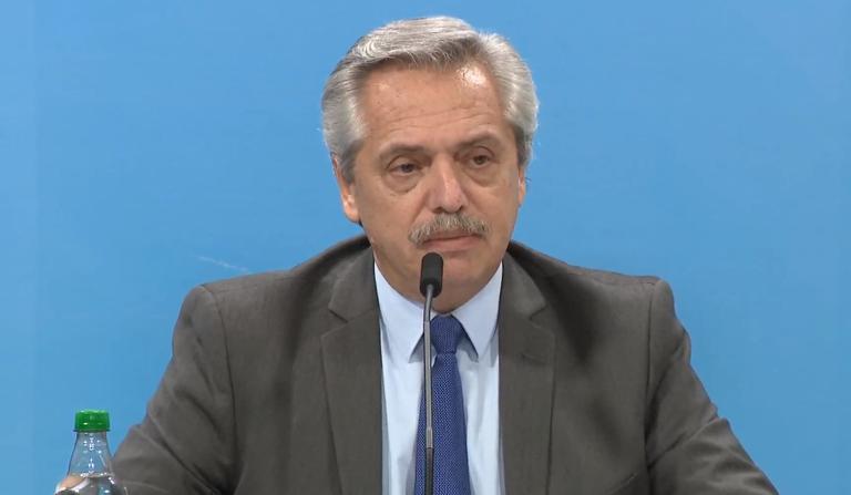 Coronavirus: Fernández advirtió consecuencias penales a quien rompa con el protocolo