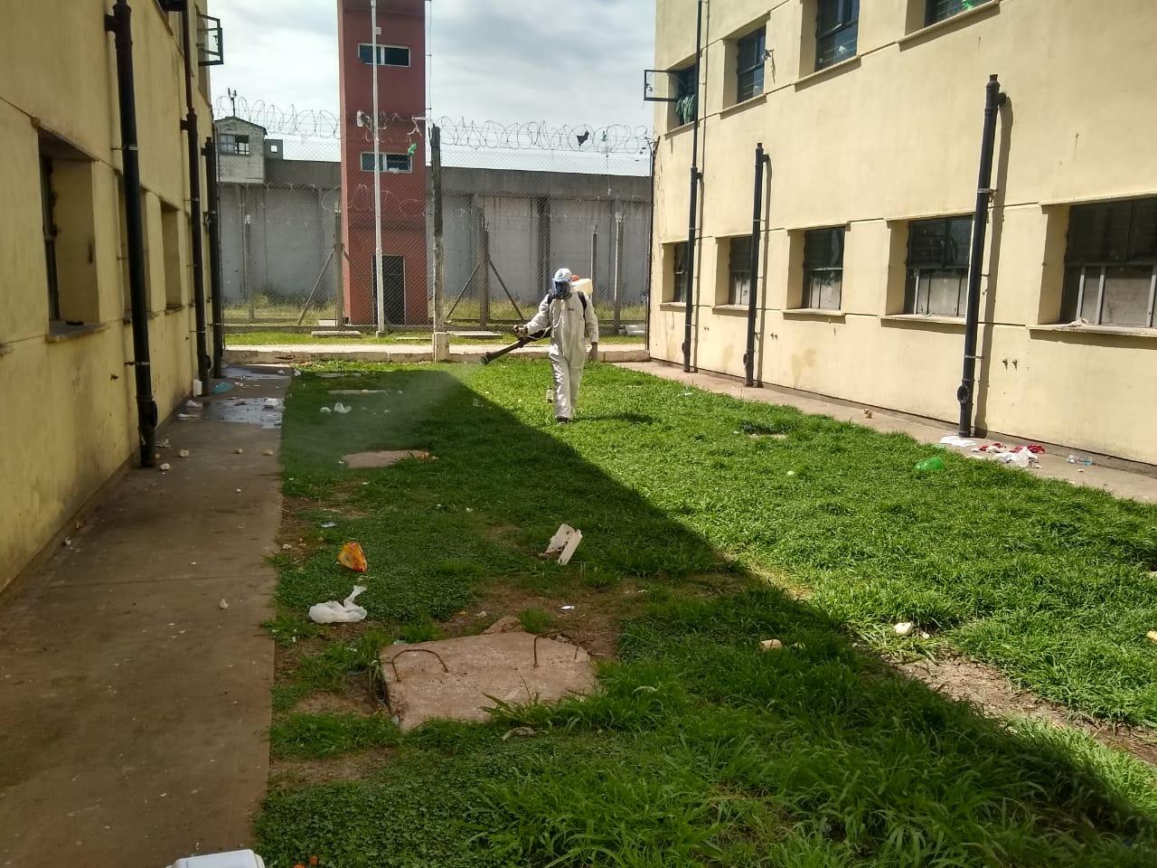Profundizan las tareas de prevención del dengue en las cárceles bonaerenses