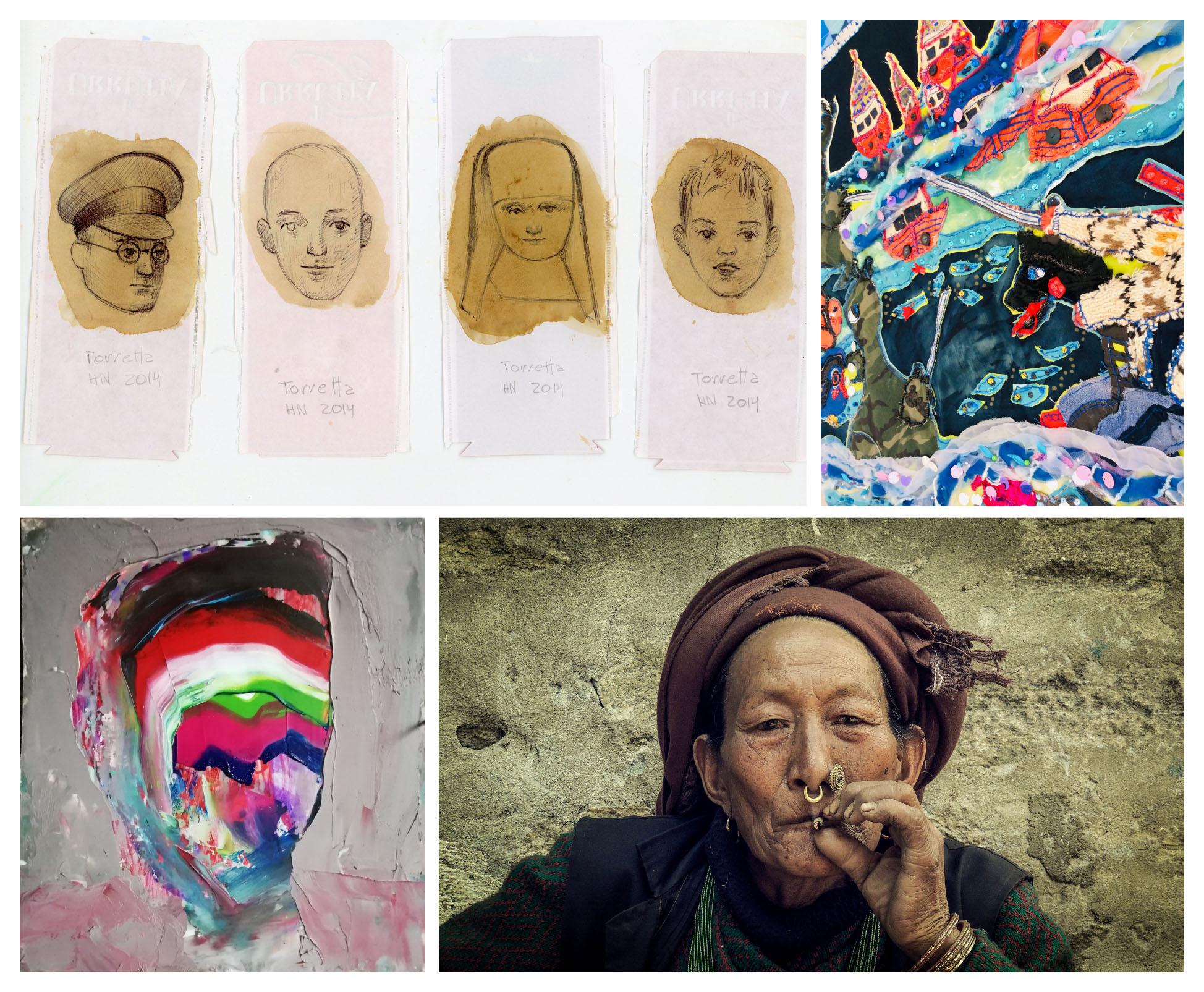 CONTINÚAN LAS MUESTRAS DE ARTES VISUALES Y FOTOGRAFÍA EN EL AUDITORIUM