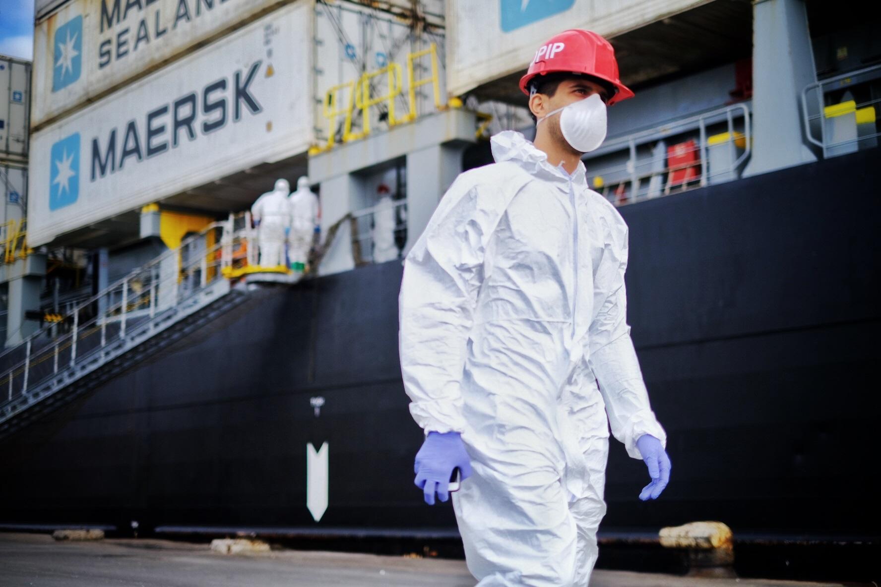 Activan protocolo sanitario en el puerto de Mar del Plata con buques extranjeros