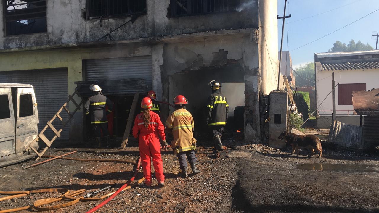 Video: Fatal incendio en Barrio Regional