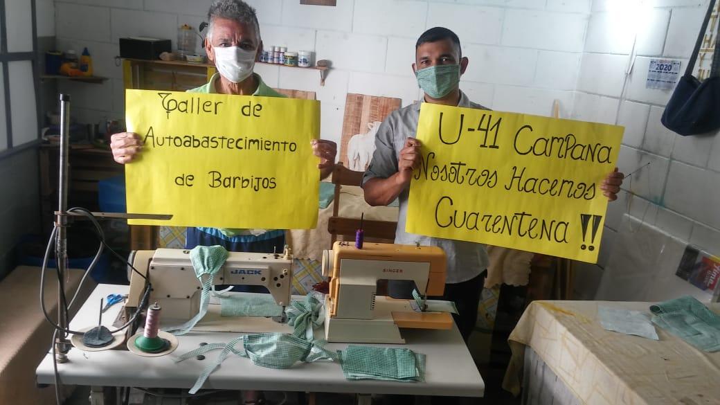 En cárceles bonaerenses fabricarán barbijos para prevenir el Coronavirus