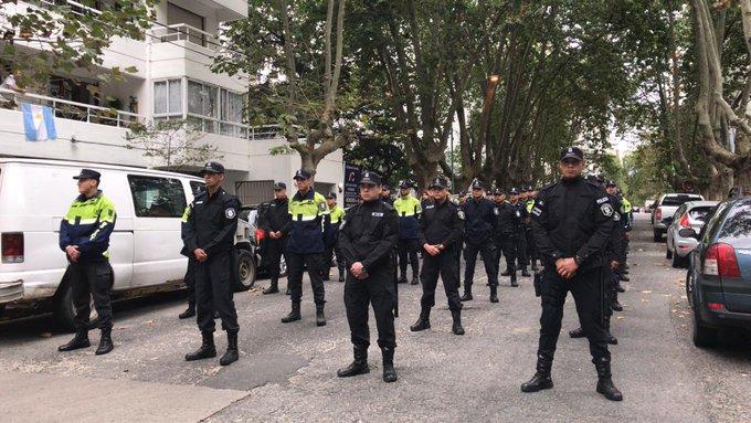 Se sumaron cien policías al control de calles en Mar del Plata