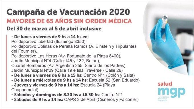 El municipio inicia la vacunación antigripal en grupos de riesgo