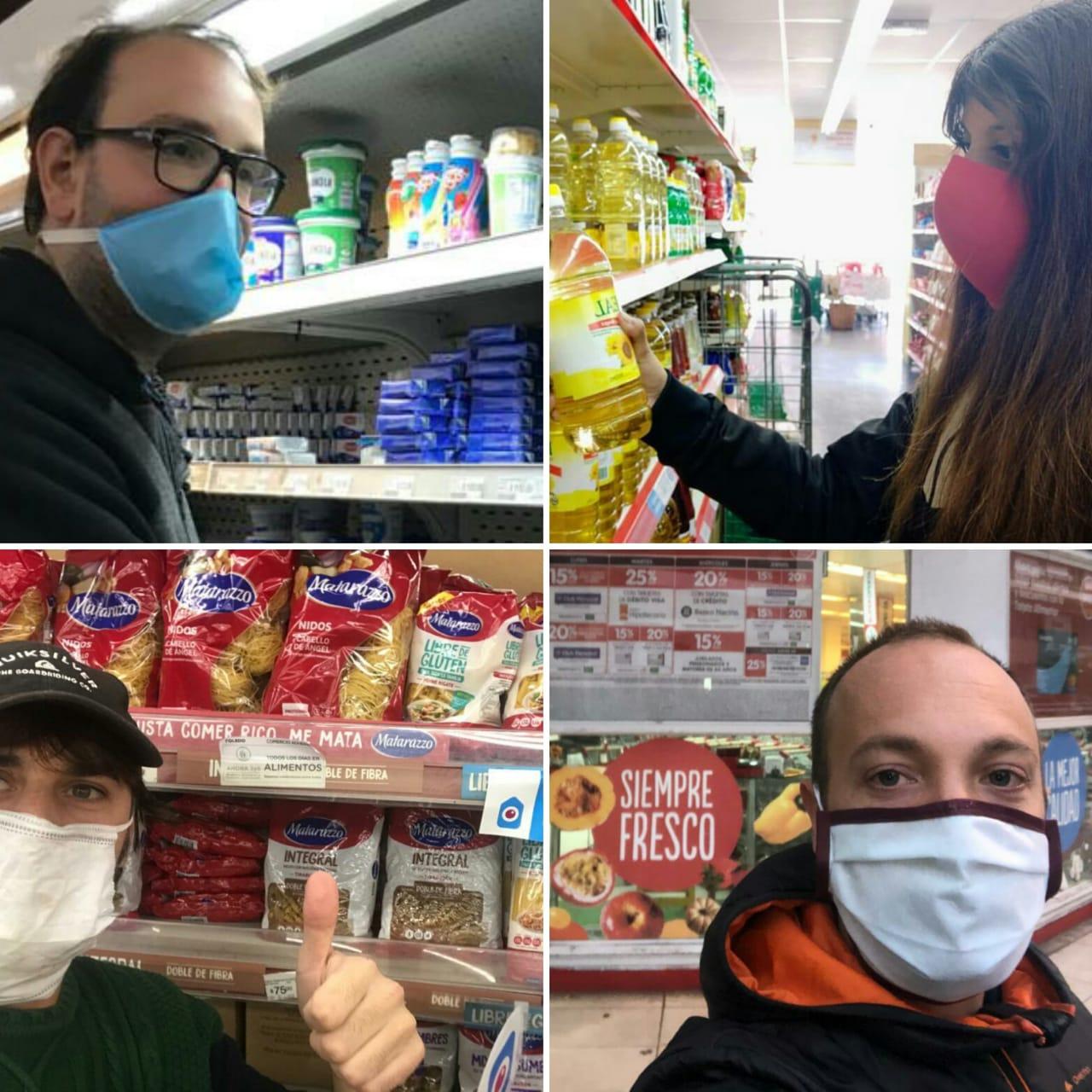 Un grupo de jóvenes llama a controlar los precios en los supermercados locales