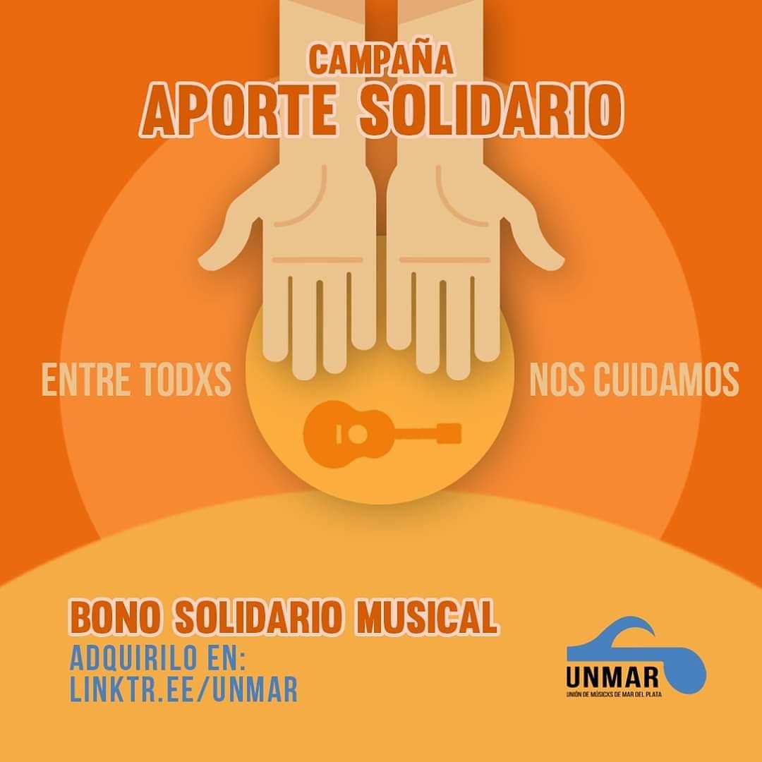 Bono Solidario Musical: campaña de aportes solidarios para músicos marplatenses