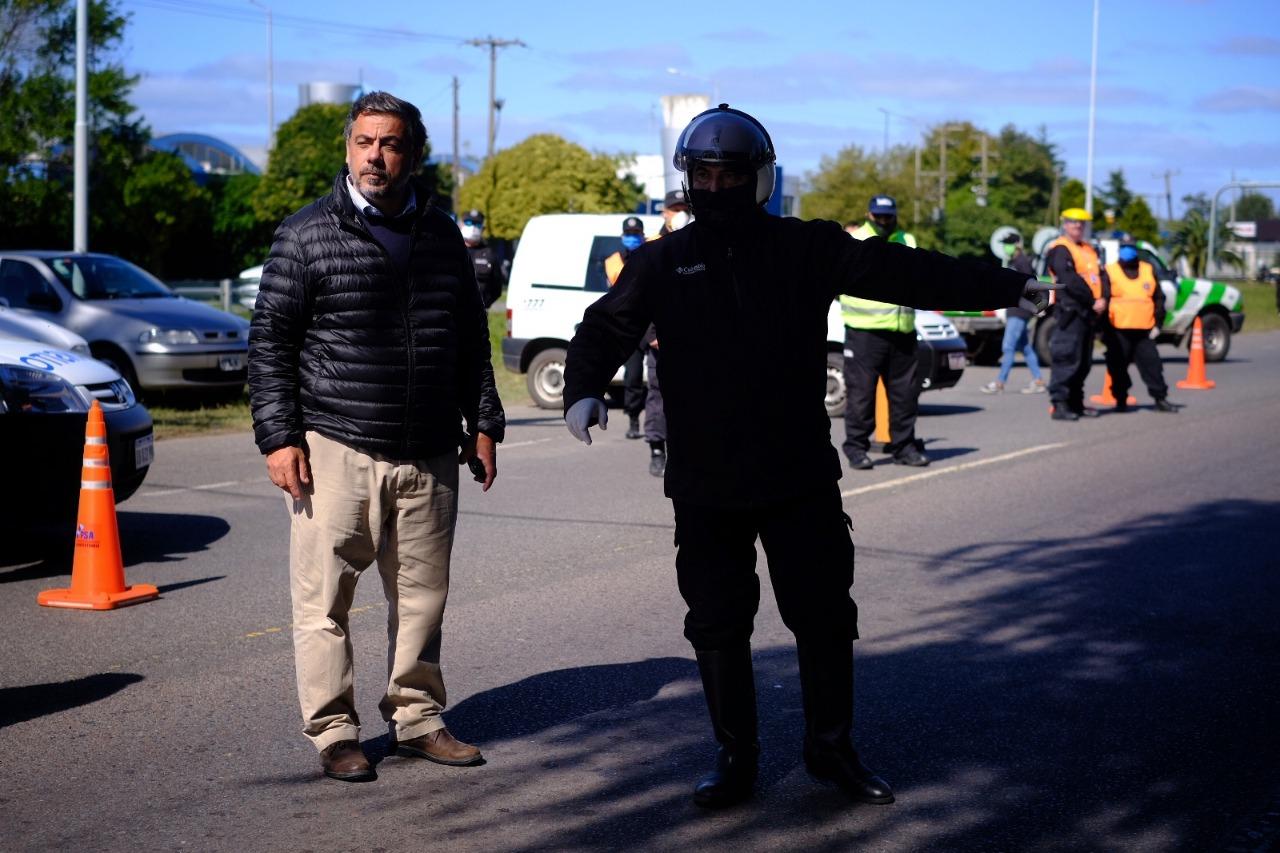 Más de 5500 notificados en Mar del Plata por violar la cuarentena