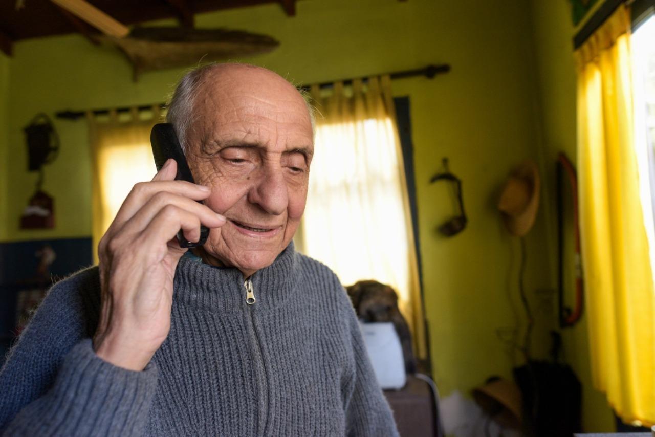 La Municipalidad refuerza el acompañamiento a personas mayores en el marco de la emergencia sanitaria