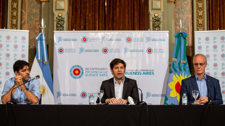 Kicillof anunció el «endurecimiento de la cuarentena» en algunas zonas de la provincia