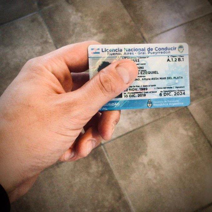 Se prorroga por 90 días el vencimiento de licencias de conducir