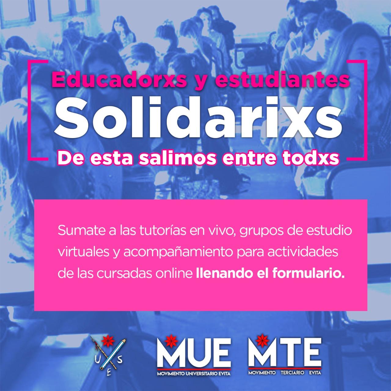 Lanzan proyecto de educadores y estudiantes solidarios