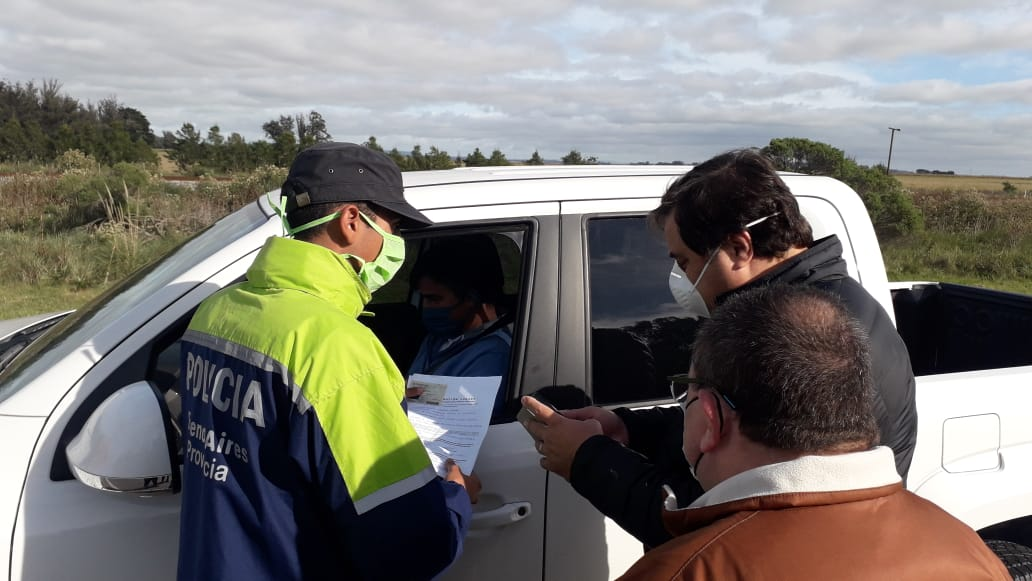 Profundizan los controles en los ingresos a Mar del Plata