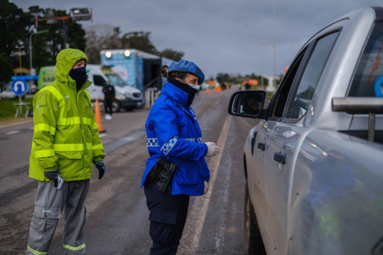 Unos 130 vehículos son rechazados por día en los controles de ingreso a Mar del Plata