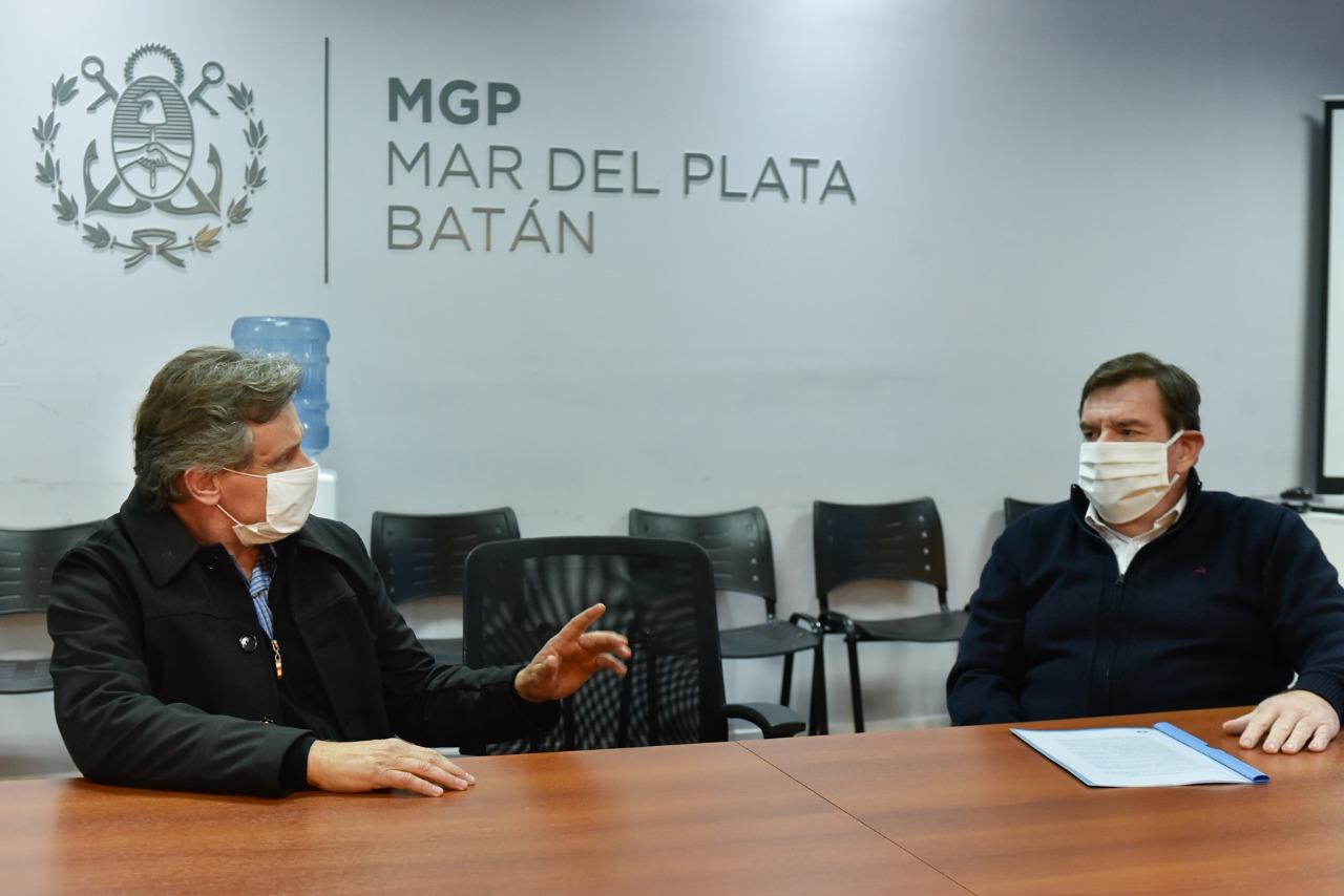 Montenegro y Pulti analizaron la situación actual de Mar del Plata